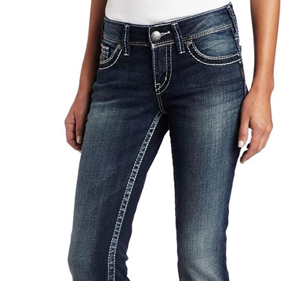 "Silver Jeans waist 30"" Suki bootcut"